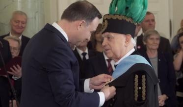 Ksiądz Czernecki kawalerem Orderu Orła Białego