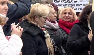 """Kobiety z """"Krupińskiego"""" przed KPRM"""