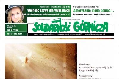 Marcowe wydanie SG: Górnictwo w dobie pandemii