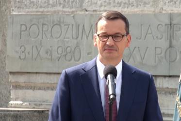 Premier Mateusz Morawiecki w Jastrzębiu-Zdroju