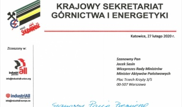 """KSGiE pisze do wicepremiera. Temat: """"Ostrołęka"""""""